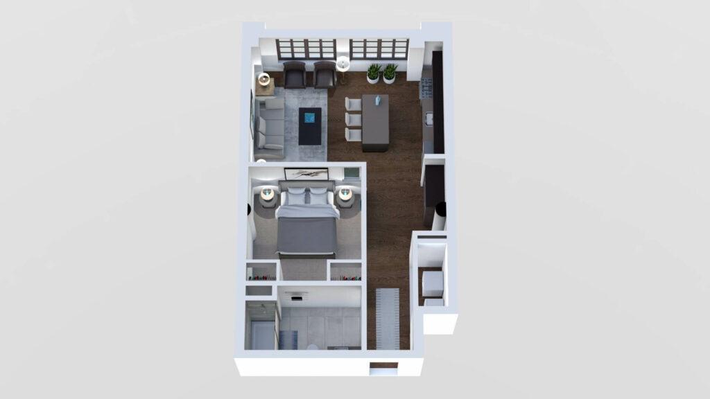 3D Floor Plan No. 01