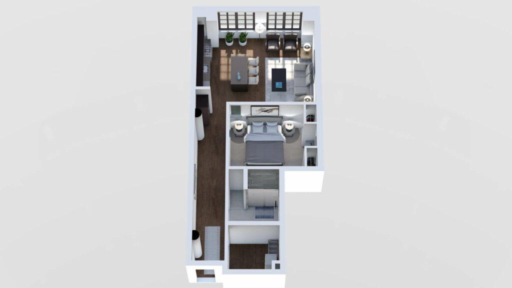 3D Floor Plan No. 05