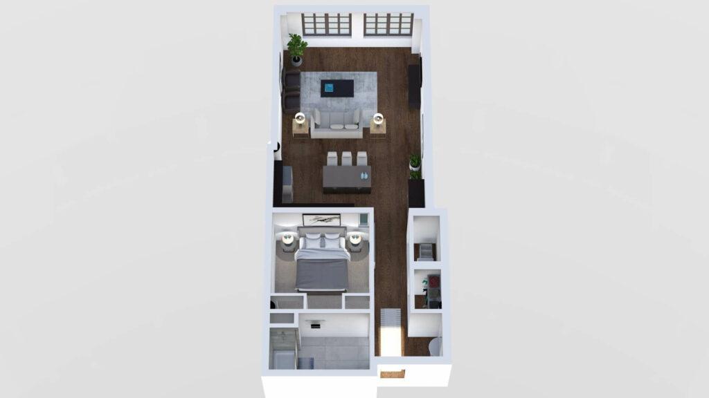 3D Floor Plan No. 07