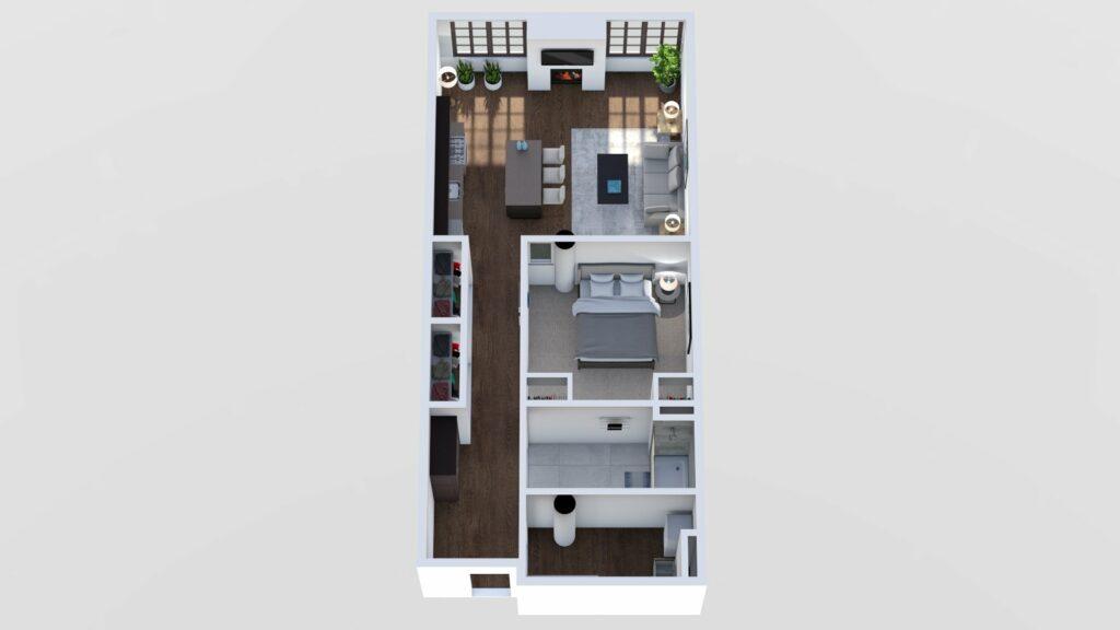 3D Floor Plan No. 09