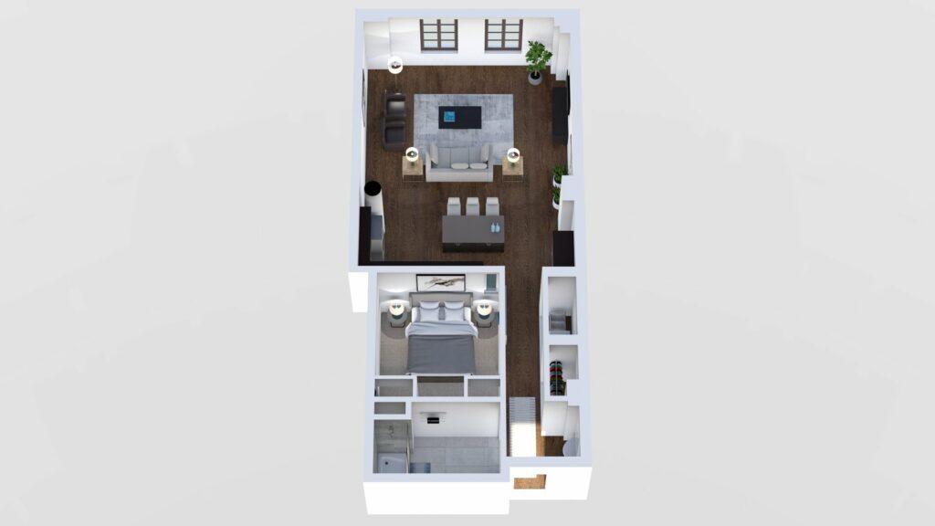 3D Floor Plan No. 09A