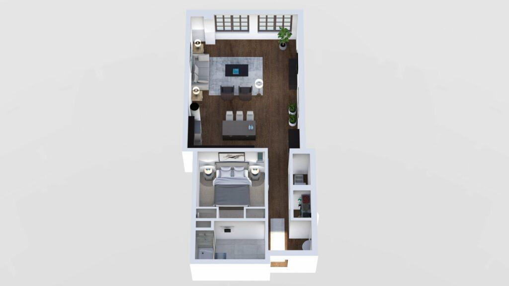 3D Floor Plan No. 10