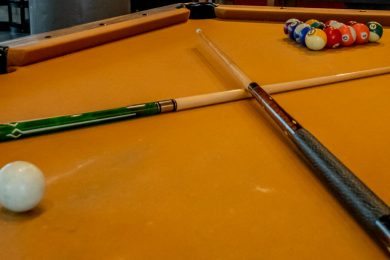 Community Room Pool Table
