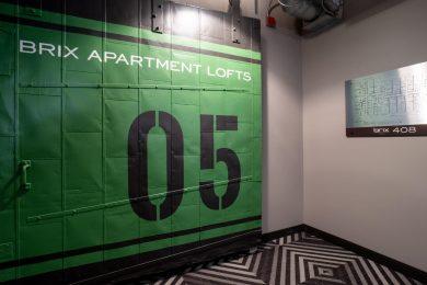 Fifth Floor Fire Door