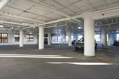 Brix Indoor Parking Garage