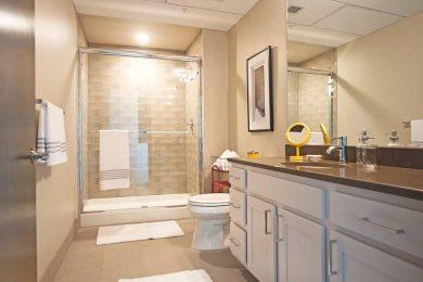 One Bedroom Corner Unit - Designer Bath With Quartz Countertops