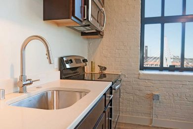 One Bedroom Corner Unit - Designer Kitchen With High End Fixtures