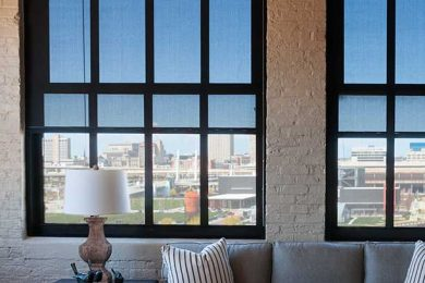 One Bedroom Corner Unit - Windows Come Equipped With Room Darkening Solar Shades