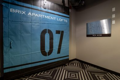 Seventh Floor Security Door