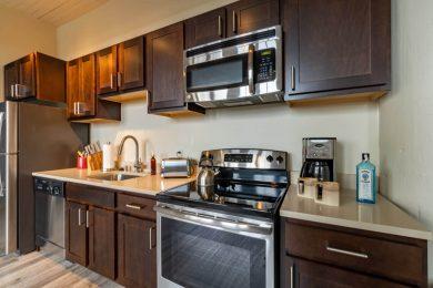Shining Stainless Steel Kitchen