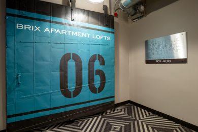 Sixth Floor Security Door