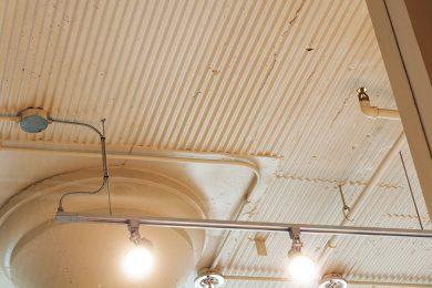 Two Bedroom Model - Exposed Original Ceiling Texture