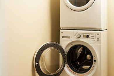 Two Bedroom Model - Full Size Energy Star Washer And Dryer In Separate Laundry Room