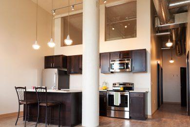 Two Bedroom Model - Open Concept Designer Kitchen With Quartz Countertops
