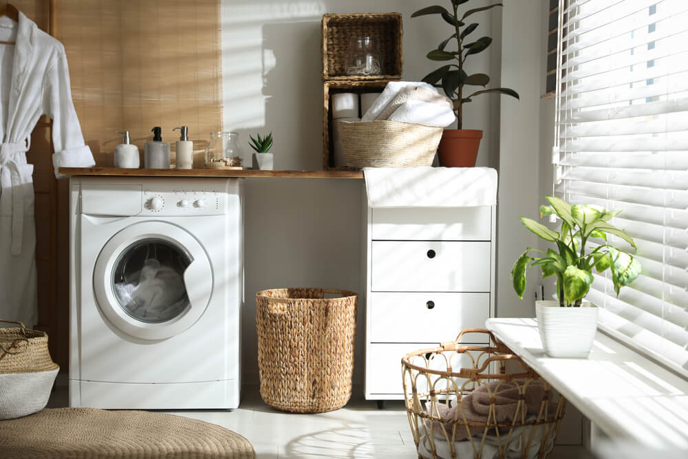 Laundry Room making the most out of the space
